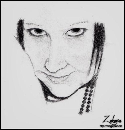 Vanessa Portrait Portrait Portrait Drawing Drawing
