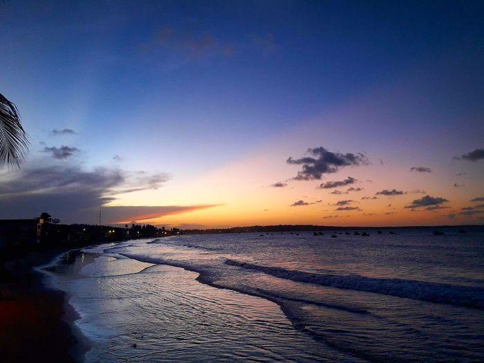 Brasil Baia Ga Traiçao Playa Mar Litoral Paraíba Sunset Beach Sea Water Sky Cloud - Sky Travel Destinations