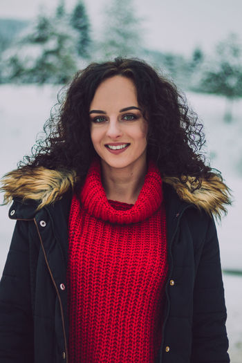 Bosnia And Herzegovina Sarajevo Snow Snowcapped Mountain Beauty Beauty In Nature Smiling Portrait Looking At Camera Happiness Young Adult Hair Clothing One Person Young Women Hairstyle Lifestyles Long Hair Warm Clothing Waist Up Real People Leisure Activity Women Beautiful Woman Scarf