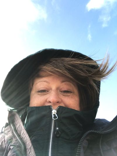 Windy Poldhu Having Me Time Getting Inspired Windswept Smiling Fresh Air... Outdoors Togetherness Windy New Years Day 2018 Walk One Person Front View Real People Leisure Activity Sky Outdoors Day Headshot Lifestyles Low Angle View Close-up Warm Clothing Love Yourself
