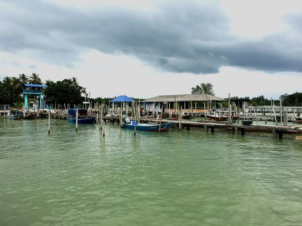 EyeEmNewHere rain clouds Built Structure Sea No People Tropics Tanjung Piai EyeEmNewHere