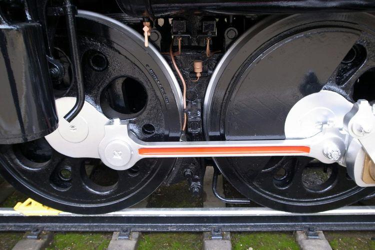 Steam Locomotive D51 The Wheels Stylish Cool 蒸気機関車 Ricoh GRD III 車輪もスタイリッシュ!実際の色とは違うんだろうなぁ
