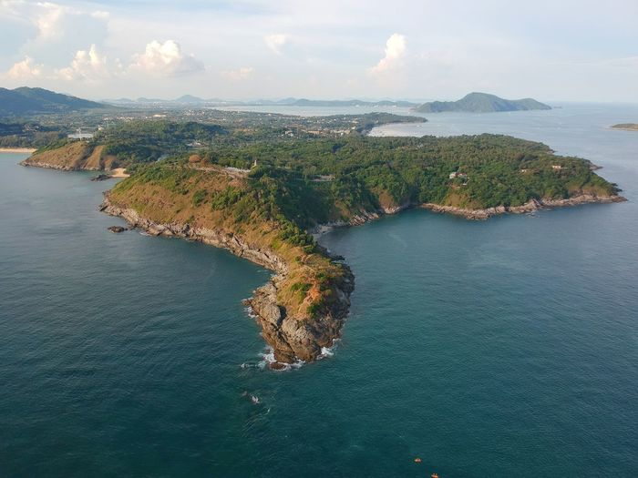Thailand Droneshot Mountain Phuket,Thailand Phuket Landscape Seascape Top View Drone Moments Dronephotography Nature UnderSea Water Sea Eyesight Beach Horizon Aerial View Airplane Flying Nautical Vessel Island Drone  Big Brother - Orwellian Concept Media Equipment Indian Ocean Plane