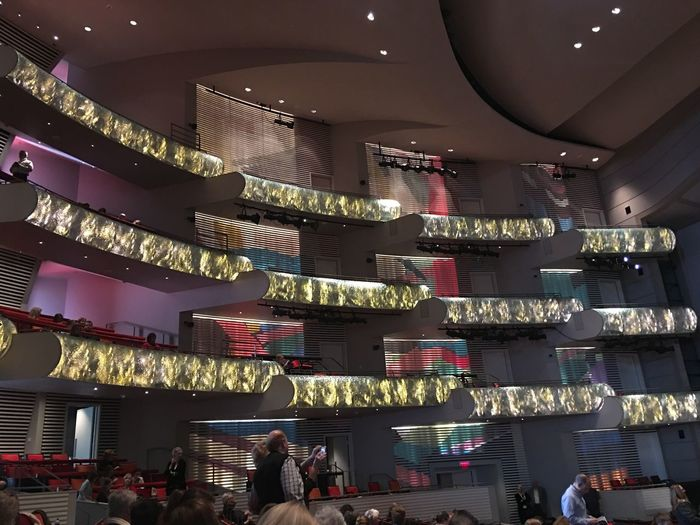 Architecture Cultures Store Built Structure Indoors  Retail Place Chinese New Year Holiday - Event Travel Destinations Shopping Mall Business Finance And Industry Illuminated Large Group Of People City Buying Staircase Crowd People Day Kauffman Center!