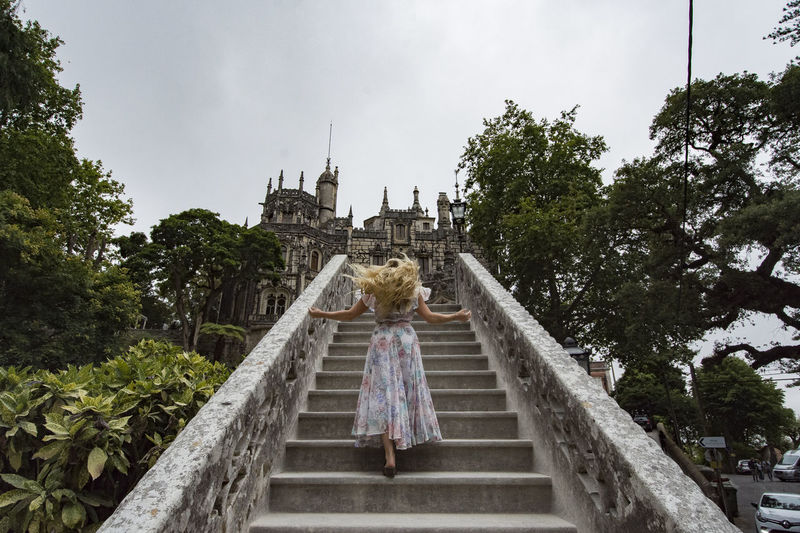 Blonde Castle Castles Dress Portugal Rear View Sintra Woman Youth Architecture Building Exterior Girl Low Angle View One Person Outdoors Real People Staircase Teen Blonde Castle Castles Dress Portugal Rear View Sintra Woman Youth Architecture Building Exterior Girl Low Angle View One Person Outdoors Real People Staircase Teen