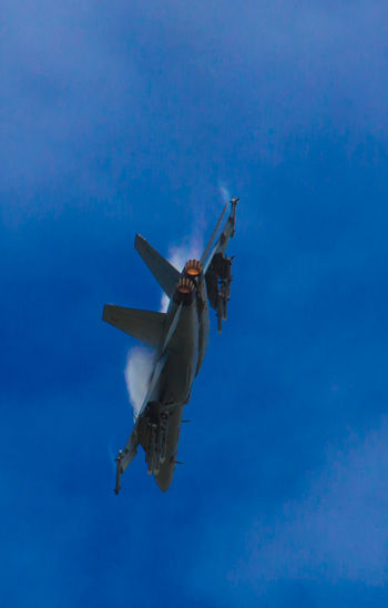 Aeroplane Afterburner Air Display  Air Force Airshow Day EyeEmNewHere F18 F18 Super Hornet Fighter Plane Flying Low Angle View Military Military Airplane Plane Sky