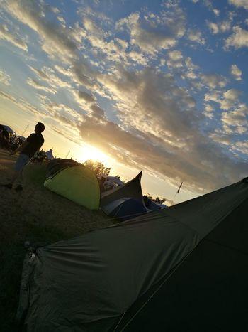 Denmark Roskilde Festival Camping Tents Tent