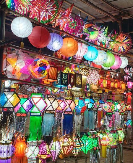 Hi EyeEm  Rejoice Celebration of Diwali Festival Of Lights begins yet again... Festival Festival Season Festival Shopping Lights Decorations Pune India