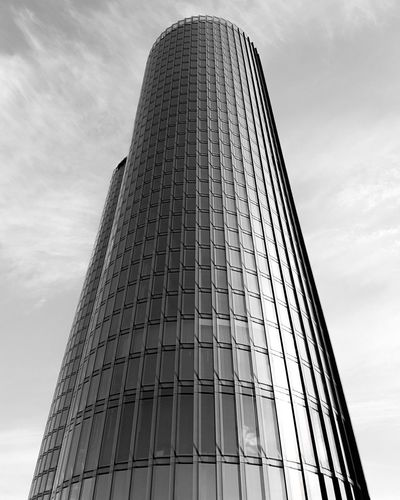 Ztowers Tower Geometry Lines Black And White Building Building And Sky Ar