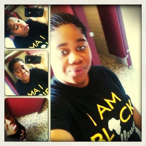 I am black excellence !!