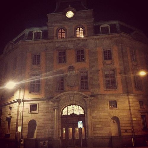 The Masonic Temple in Uppsala.