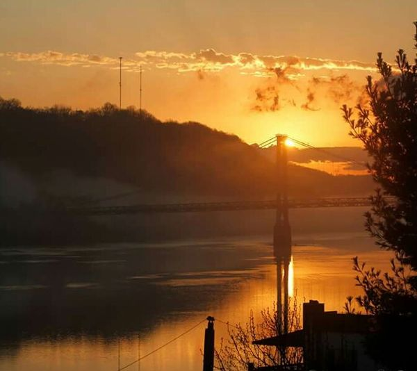 The Ohio River The Banks Of The Ohio River Ohio Valley Sunset Nature Photography Away From The City Cincinnati