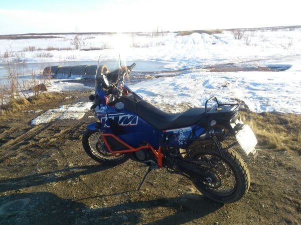 ktm Abventure Winter Road Vorkuta