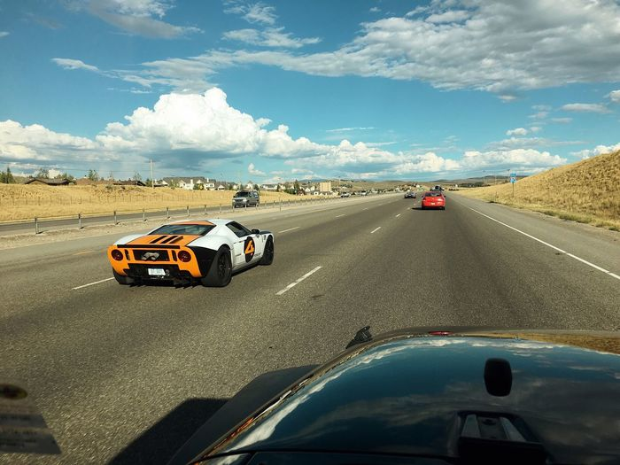 Ford GT sighting. i've seen three in the last two days on my ride home. Supercar Park City, Utah