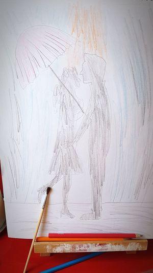 Sketch of couple. Sketch Sketches Sketch Art Sketching And Stuff Sketchart Ske