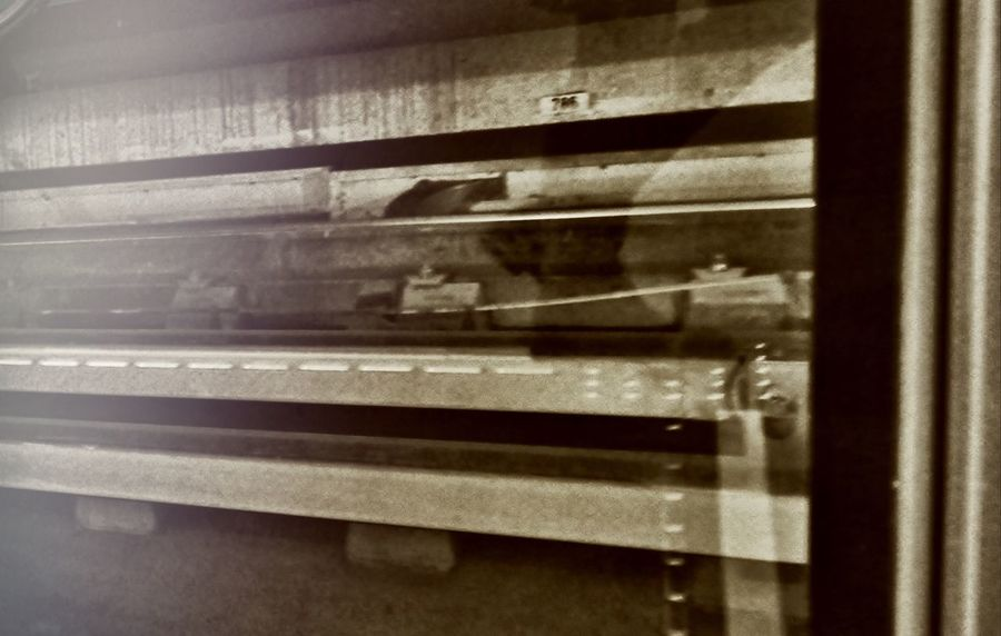 Escaping Detail Shadow Reflex Mirror Glass Railway Metro Metro Station Urban Urban Lifestyle Underground
