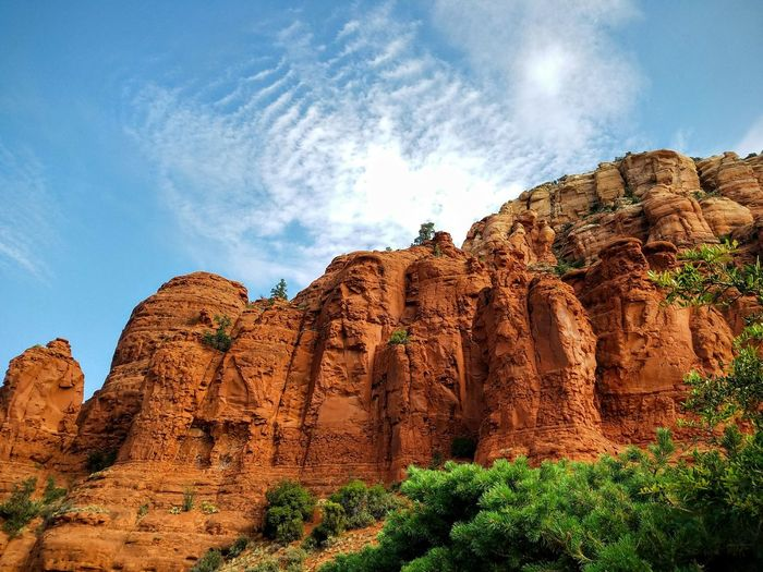 Red rocks of