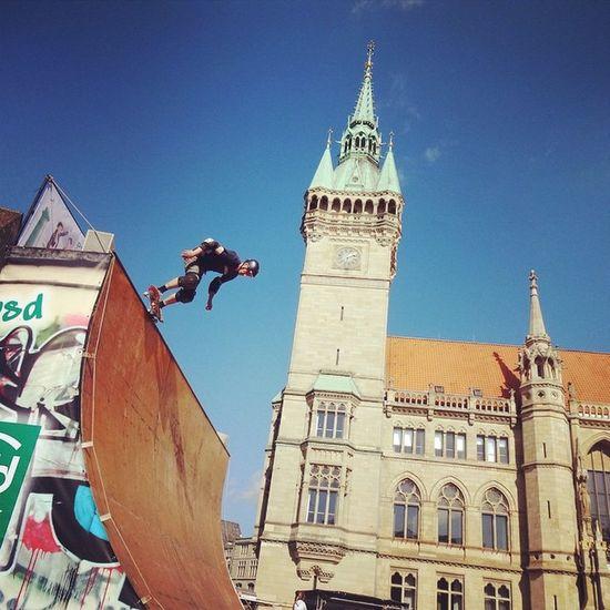 Sport Exciting Jump Skateboard Dynamic