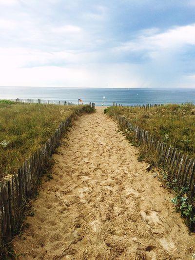 Sea France Hello World Enjoying Life Beach Normandie Summer Vscocam Holiday Enjoying The View