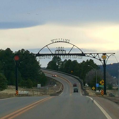 City Travel Williams, Arizona Cross Country Roadtrip Arizona Hwy 40 Mountain Range Mountain Beauty In Nature