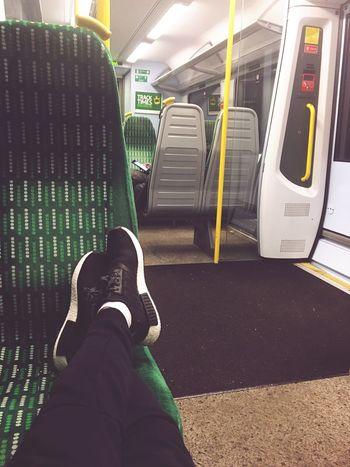 Londonmidland Train Station LondonTransport Addidas Yeezy Outfit