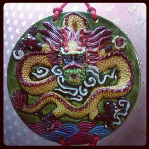 Dettaglio lampadario cinese