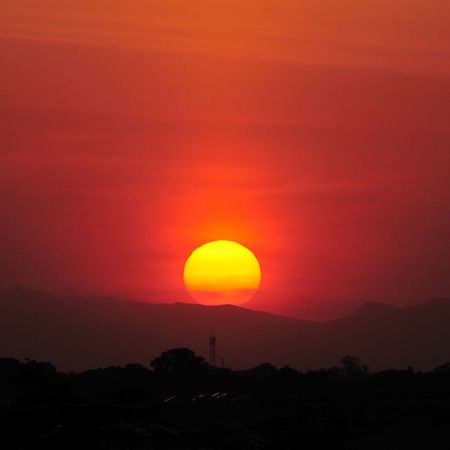 Sunset Magic Hour 夕焼け Nikon D300s
