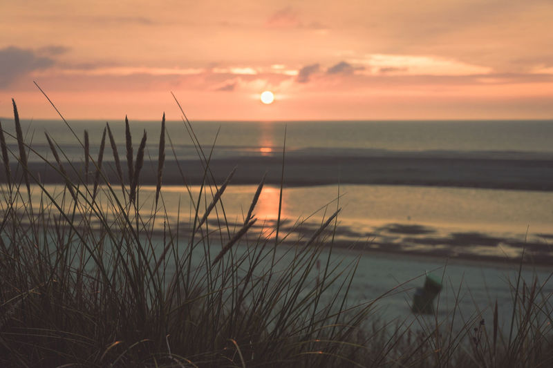 I have taken this picture during my Langeoog stay in september. Dramatic Sky Tranquility Travel Beach Beauty In Nature Horizon Over Water No People Outdoor Scenics Sea Sea And Sky Seascape Seaside Shore Sky Sunset Tranquil Scene Tranquil Scene Outdoors Vacation Water
