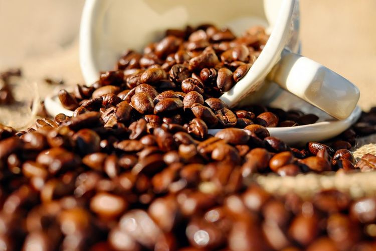 coffee Abundance Bowl Breakfast Brown Close-up Coffee Coffee Bean Food Food And Drink Freshness Large Group Of Objects Meal Ready-to-eat Roasted Coffee Bean Selective Focus Surface Level Vegetarian Food First Eyeem Photo