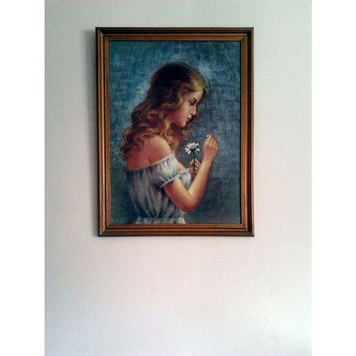 adeus Viseu n°1 Painting Woman Quadro Mulher Adeus Viseu