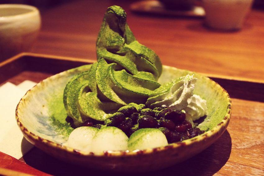 甘味 Osaka,Japan Sweet Food 抹茶 Tee Match