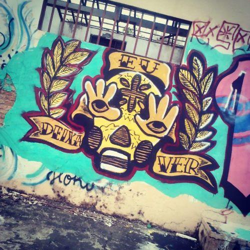 Deixa-me ver. Graffiti Asruasfalam Cuiabá Movimentorota Artederua Streetnews
