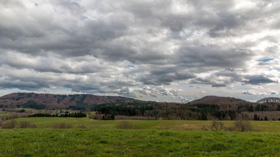 cloudy Blackforest Cloud Cloud - Sky Cloudy Landscape Mountain Mountain Range Nature Sky Weather