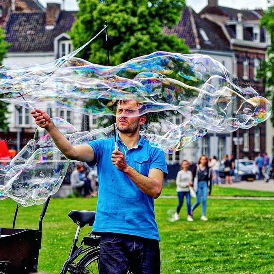 A Day At The Park Park Life Bubbles Bubble Man Bubble Wrap Bubblewrap