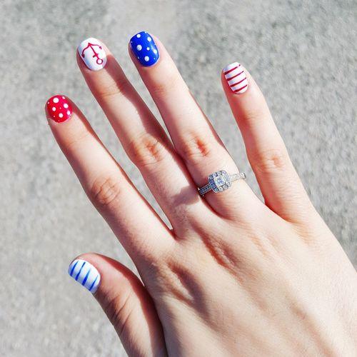 4th Of July 4thofjuly Independenceday Nailart  NailsDone❤❤