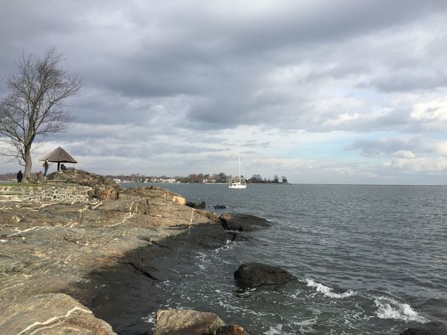 Ocean view off Larchmont NY