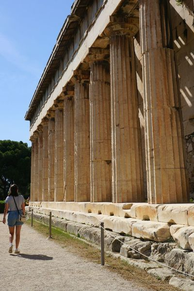 Filopappou Hill, the hill of the muses. Filopapou Athens, Greece. Athens Athens, Greece Architecture Travel Travel Destinations Travelphotography Historical Building Architecture_collection Architechture