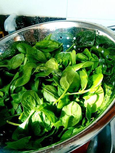 Spinach Szpinak Check This Out Taking Photos In The Kitchen Enjoying Life