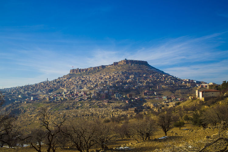5dMarkIII Beauty In Nature Blue Day Eskişehir Eyem Hi! Landscape Mardin Mountain Nature No People Old City Outdoors Rock - Object Rock Formation Scenics Sky Tranquil Scene Tranquility Travel Destinations Tree Tree Trees Turkey