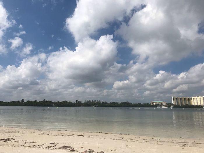 Cloud - Sky Sky Water Beach Beauty In Nature Land Scenics - Nature