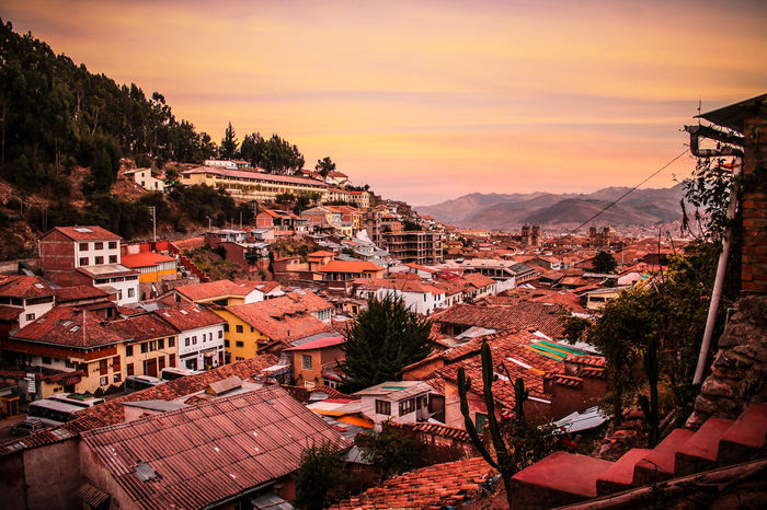 City Wanderlust Mountain Urban Skyline Sunset Cusco Peru Discoversouthamerica The Week On EyeEm Nature Outdoors Sky Illuminated Landscape Travel Lost In The Landscape Sacred Valley Of The Incas