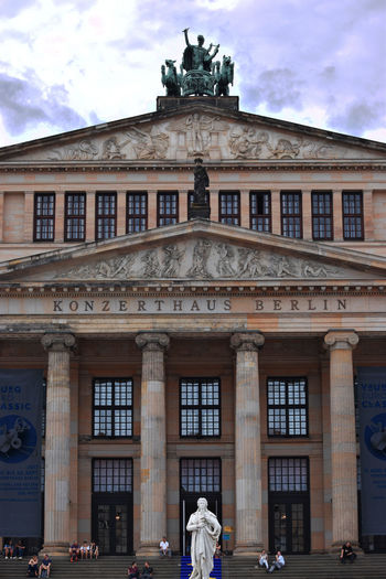 Berlin Classic Music Opéra Schiller Architecture Building Exterior Germany Konzerthaus Sculpture Statue Travel Destinations