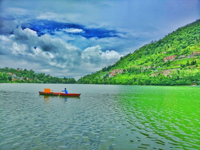 Water Nature Scenics Beauty In Nature Tourism Horizon Over Water Peaceful Evening Famous Attractions SilentHill Bhimtal, Uttarakhand Indiaincredible India At Its Best. Indiabestpictures