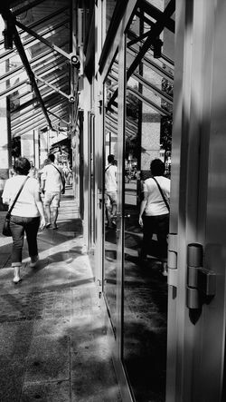 Blackandwhite Monochrome Citylife Magdeburg The Places I've Been Today Summer2015 People Photography Discover Your City In The Mirror Mirror Picture