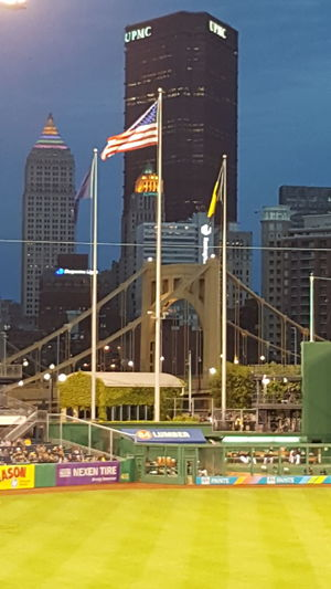 Pirates vs. Braves - PNC Park - Pittsburgh, PA - May 16, 2016 Pittsburgh Pirates Pittsburgh Life Pittsburgh PNC Park Baseball Downtown Pittsburgh