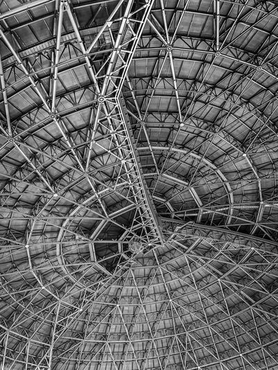 ShotOnIphone Fukuoka Japan Full Frame Pattern Backgrounds No People Day Textured  Metal Industry Fishing Industry Fishing Net Netting Nature Sunlight Complexity Large Group Of Objects Abstract High Angle View Outdoors Design Close-up