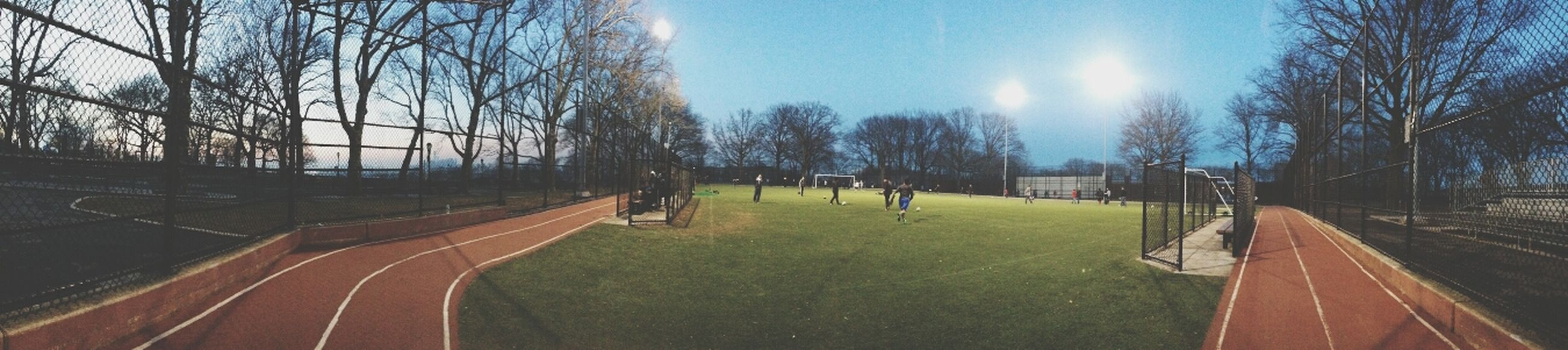 Brooklyn Sunset Park :) well, this is life for now xD HAHA pracrixcing softball everyday in this feild with lots of people too xD its o.d fun.