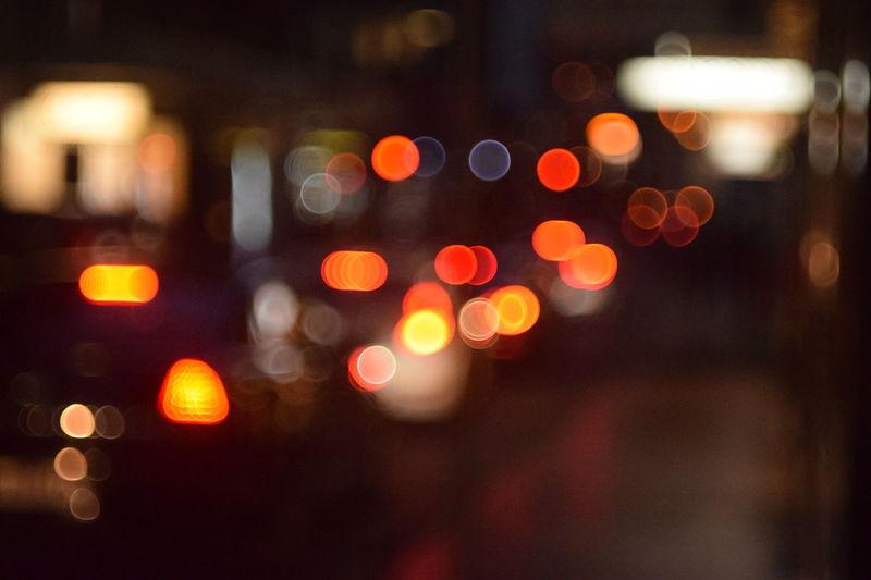 Lights, Camera... Bokeh Helios 44M-4 58mm 1:2 Lights HUAWEI Photo Award: After Dark City Defocused Illuminated Red Car Close-up Vehicle Light Vehicle Red Light Building Traffic Tail Light Light Trail