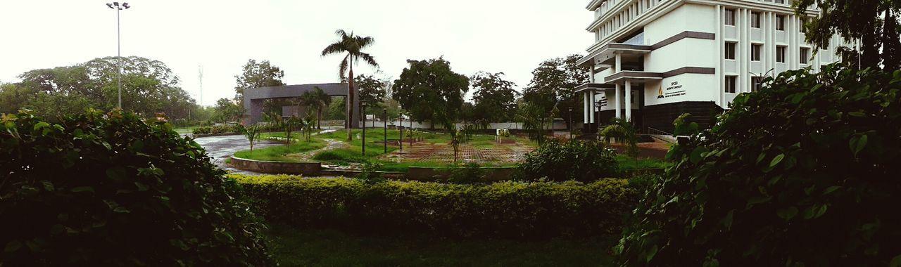 SAU Campus when it rains 😍