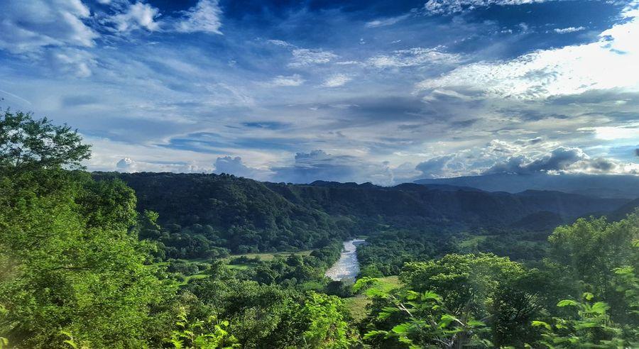 Magdalena River Landscape Traveling